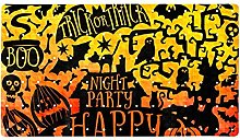 Happy Halloween - Tappetino antiscivolo per bagno,