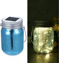 Happyshopping - Mason vaso placcatura solare, luce