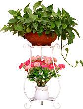 Happyshopping - Supporto per piante in metallo a