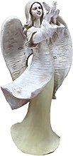 Happyyami Angelo Giardino Statua di Angelo