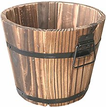 Happyyami Botte di Legno Vaso di Fiori Piatto