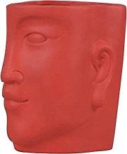 Happyyami Frontale in Ceramica Fioriera Moderno