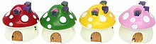 Happyyami In Miniatura Fata Giardino Fungo Casa