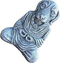 Happyyami Meditazione Statua del Cane del Cane