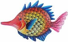 Happyyami Pesce in Metallo di Arte Della Parete di