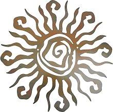 Happyyami Wacky Sole In Metallo Decorazione Della