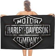 Harley Davidson double face pile asciugamani