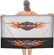 Harley double face pile asciugamani da bagno