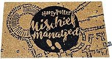 Harry Potter Mischief Managed Doormat - Zerbino