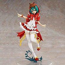 Hatsune Miku Rosso Mobile in piedi Statua Bambola