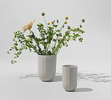 Hay Paper Porcelain Vaso
