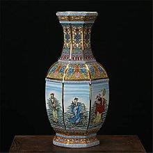 Hbao Vaso Ceramica Smalto Pastello Antico Studio