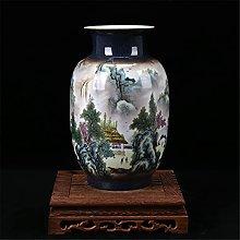 Hbao - Vaso classico in porcellana smaltato,
