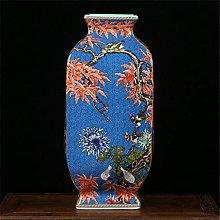 Hbao Vaso in ceramica a pendolo spazzolato a forma