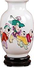 Hbao - Vaso in ceramica dipinto a mano, in
