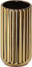 HCHLQLZ 18CM Oro Fiori Vaso Decorativo di Design