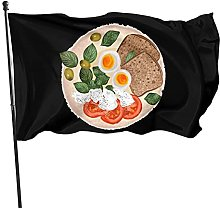Hdadwy - Bandiera da giardino per decorazioni per