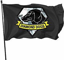Hdadwy Diamond Dogs Tapestry - Decorazione per