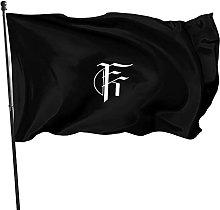 Hdadwy for A King Logo Arazzo Cortile Bandiera
