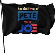 Hdadwy for The Love of Pete, vote Joe - Bandiera