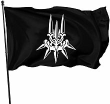 Hdadwy Yorha - Bandiera bianca per giardino,