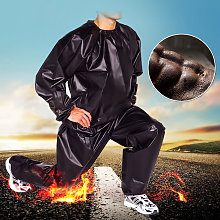 Heavy Duty Sweat Suits Sauna Palestra Fitness