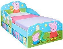 HelloHome Peppa Pig - Lettino per bambini con