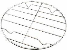 Hemoton - Griglia rotonda per cottura a vapore, in