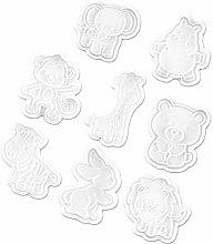 Hemoton - Stampo per biscotti a forma di molla, 8