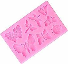 Hemoton Stampo per Caramelle in Silicone Libellula