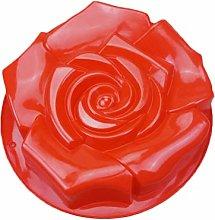 HEMOTON Stampo per torta a forma di rosa creativo