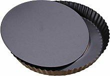 HEMOTON Teglia per Pizza Antiaderente Rotonda da 9