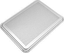 Hemoton - Teglia per pizza in lega di alluminio,