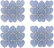 Henan Love - Stampo in silicone per cellulare, a