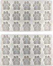 Henan, portachiavi in silicone con forma di zampa