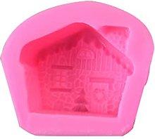 henan - Stampo in silicone 3D per candele di