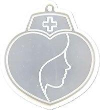 henan - Stampo in silicone a forma di cuore, con
