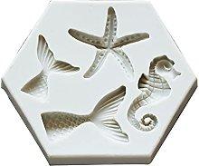 henan - Stampo in silicone per fondente fai da te