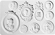henan - Stampo in silicone per torte e fondente