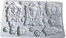 henan - Stampo in silicone per torte, in resina,