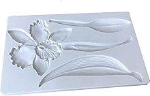 henan - Stampo in silicone per torte, motivo: