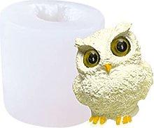 henan - Stampo per candele in silicone 3D, motivo: