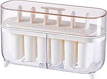 henan - Stampo per ghiaccioli a 6 celle per