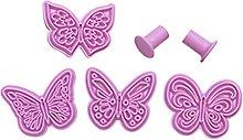 Henan - Stampo per goffratura a forma di fiore,