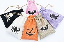 HENTEK Sacchetto Caramelle Halloween, Sacchetti di