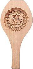 Herafica scolpito rotondo stampo in legno