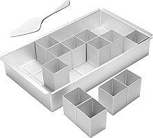 Heritan - Lettera rettangolare in alluminio,