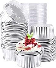Heritan - Pirottini per cupcake con coperchio, in