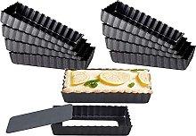 Heritan - Teglia per torte e quiche da 10 cm,