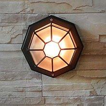 HEZHANG Ip44 Plafoniera Impermeabile Lampada da